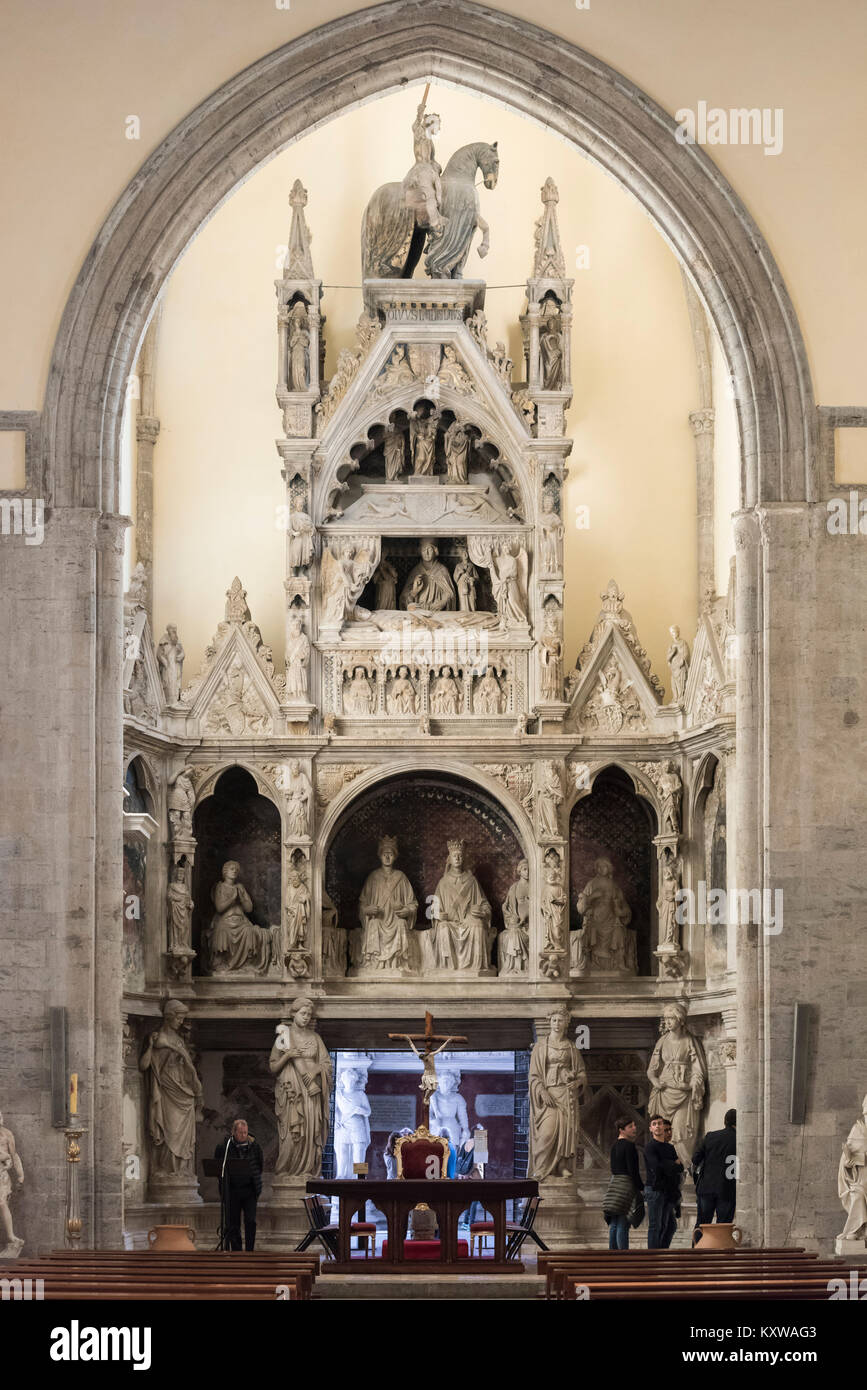 Naples. Italy. The 15th centur...