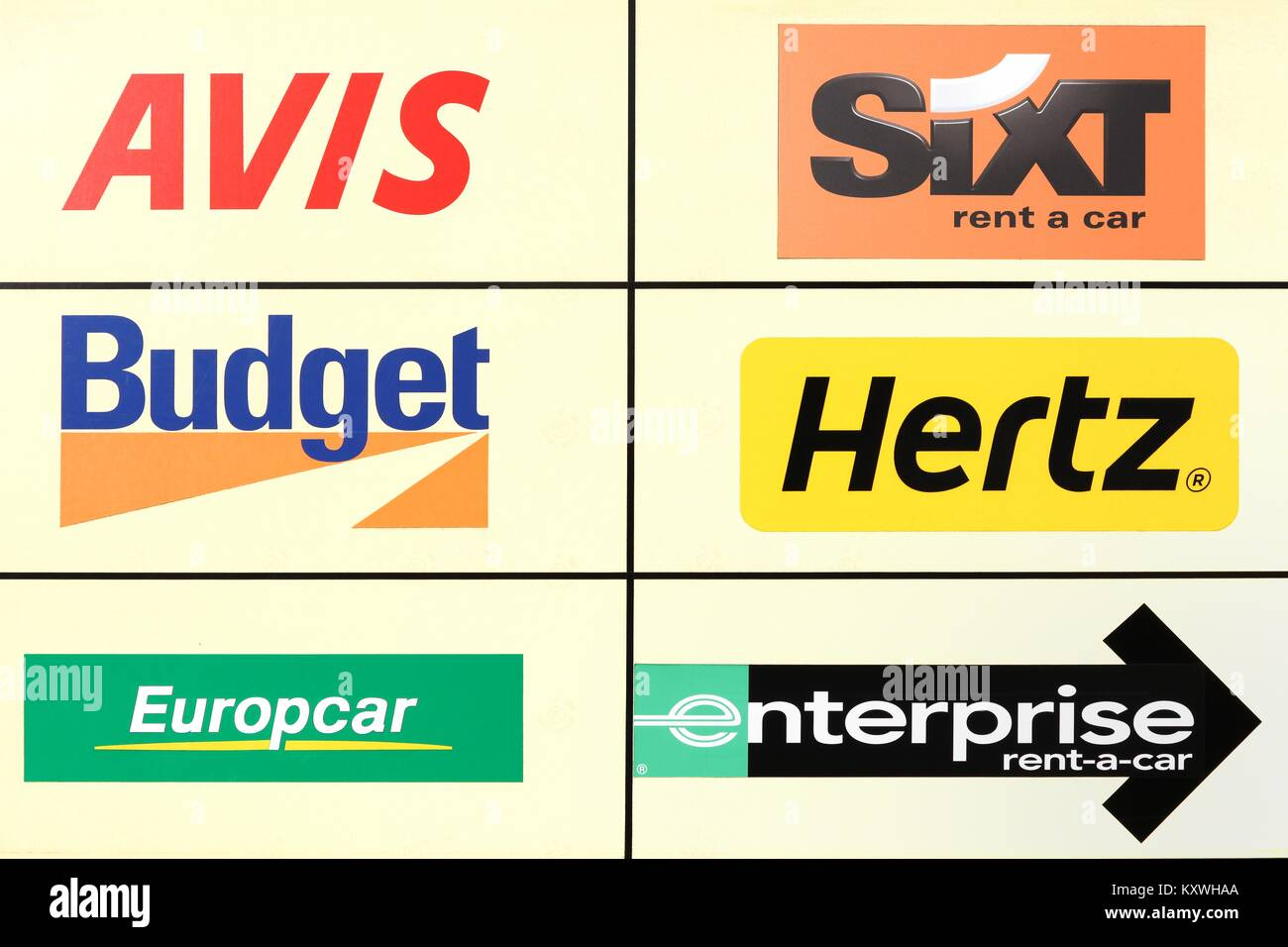 Major Car Rental Companies In South Africa