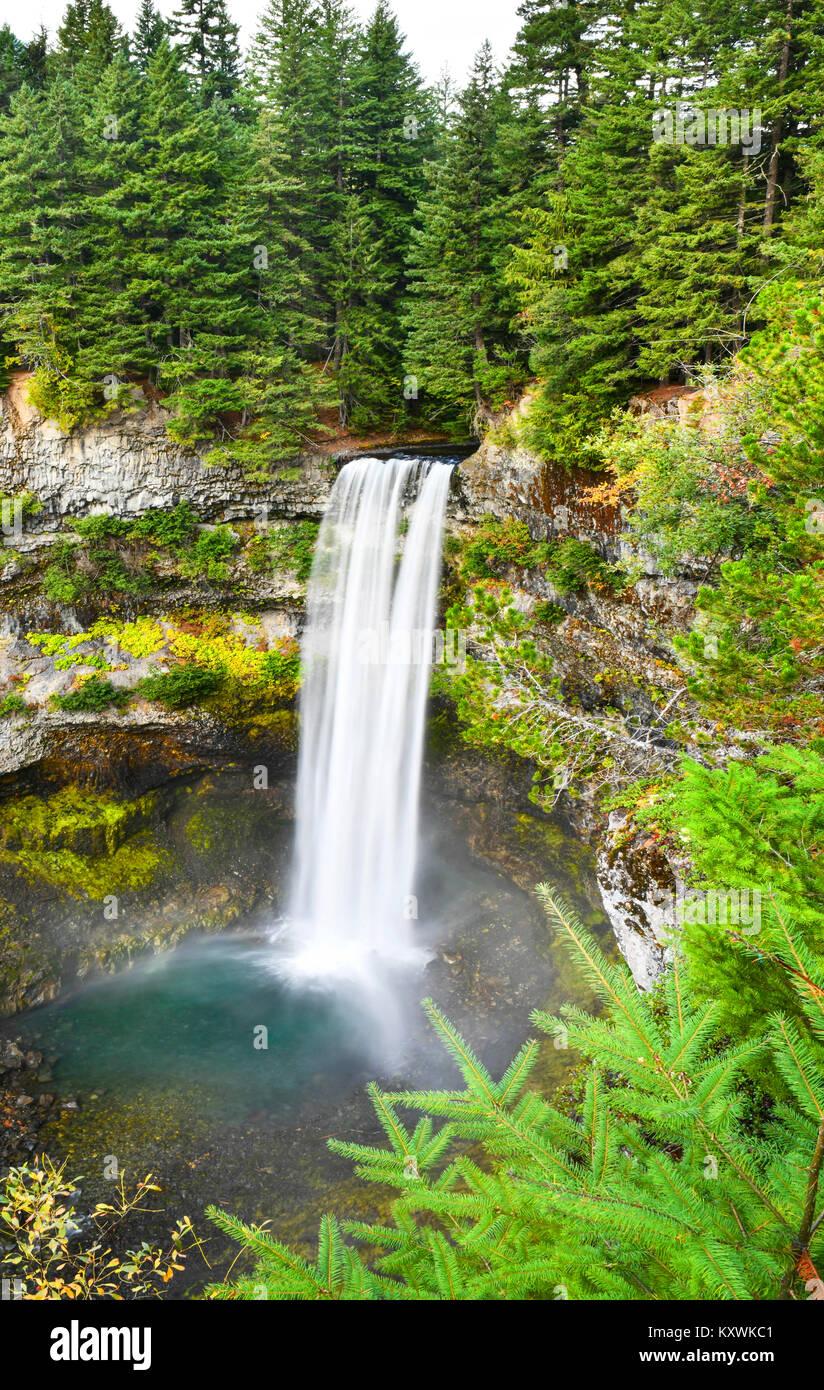 Brandywine Falls Provincial Park, British Columbia,Canada - Stock Image