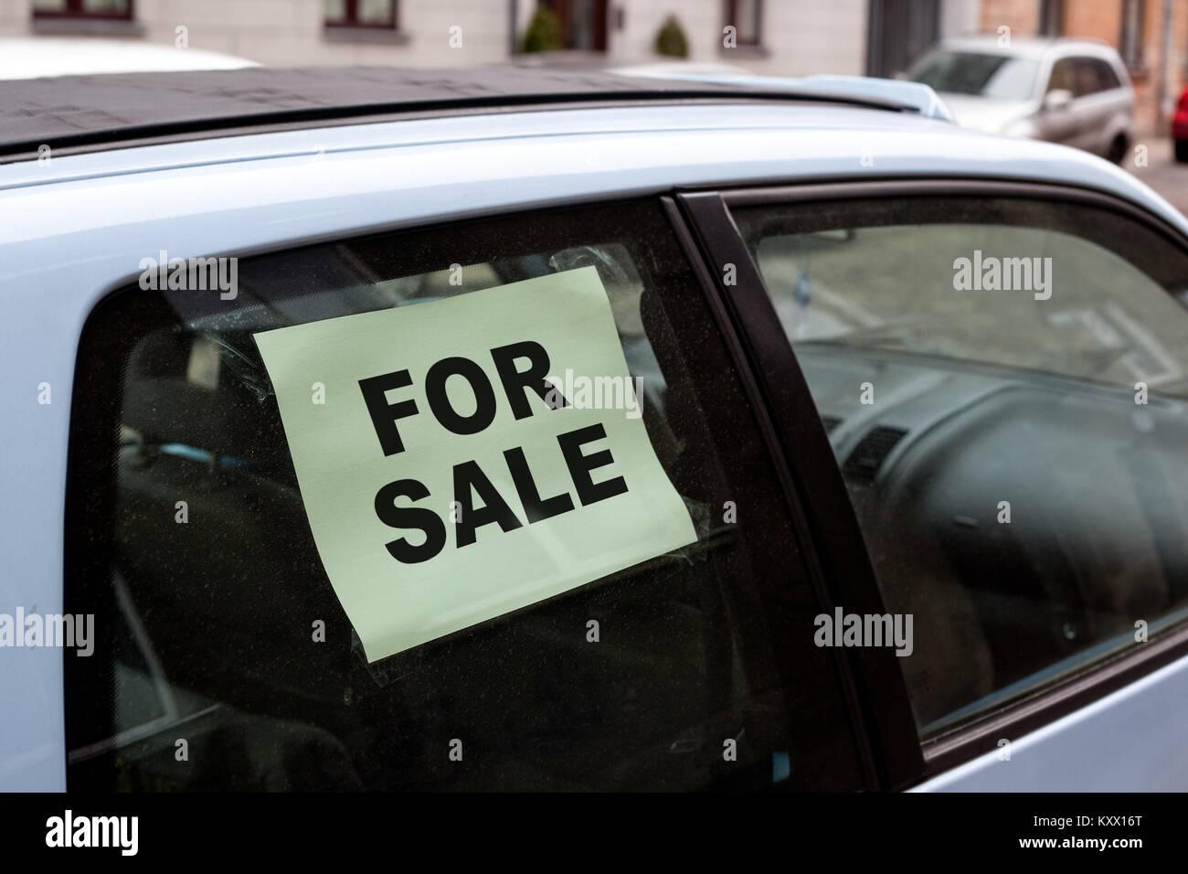 Car Sale Sign Stock Photos Car Sale Sign Stock Images Alamy