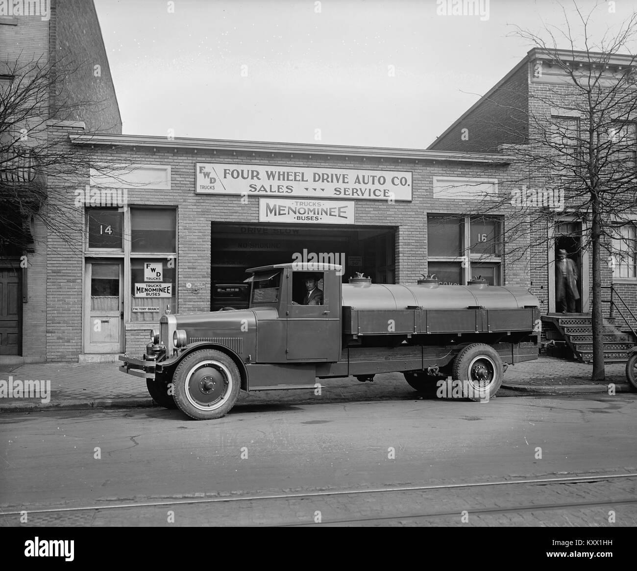 Fuel Truck - Stock Image