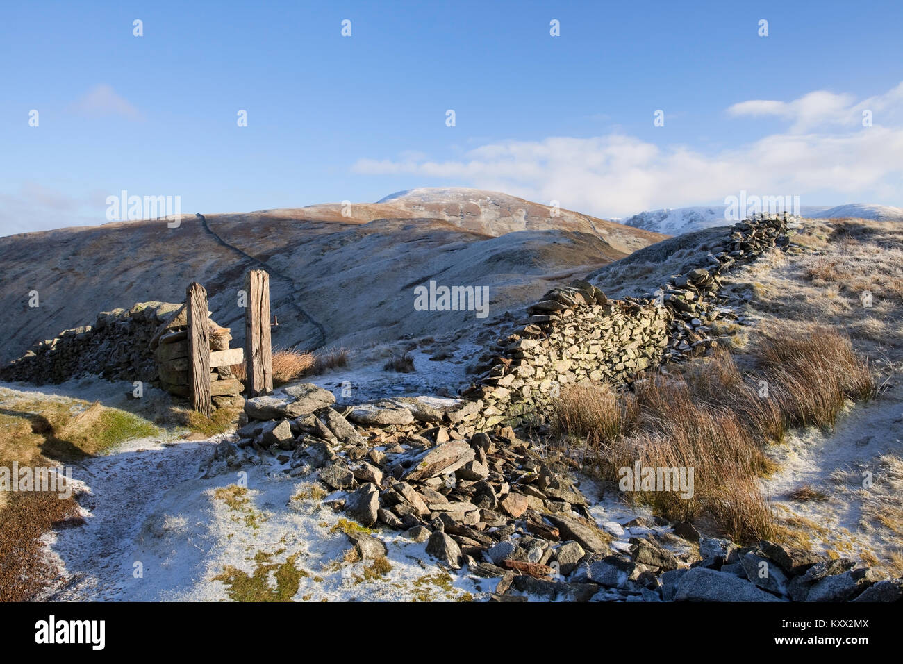 Rest Dodd in the English Lake District - Stock Image
