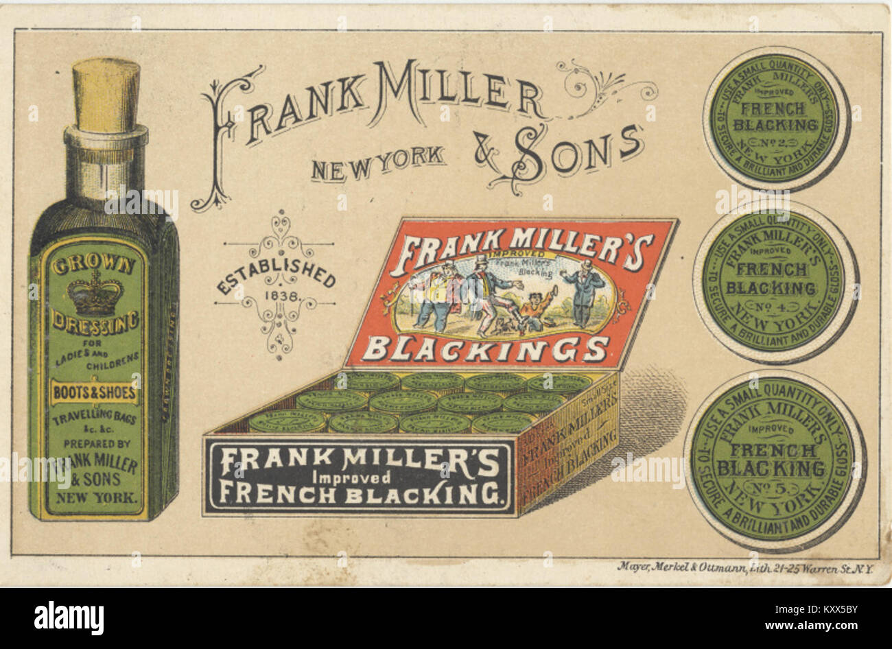 Miller And Sons >> Frank Miller And Sons Estab 1838 3092901037 Stock Photo