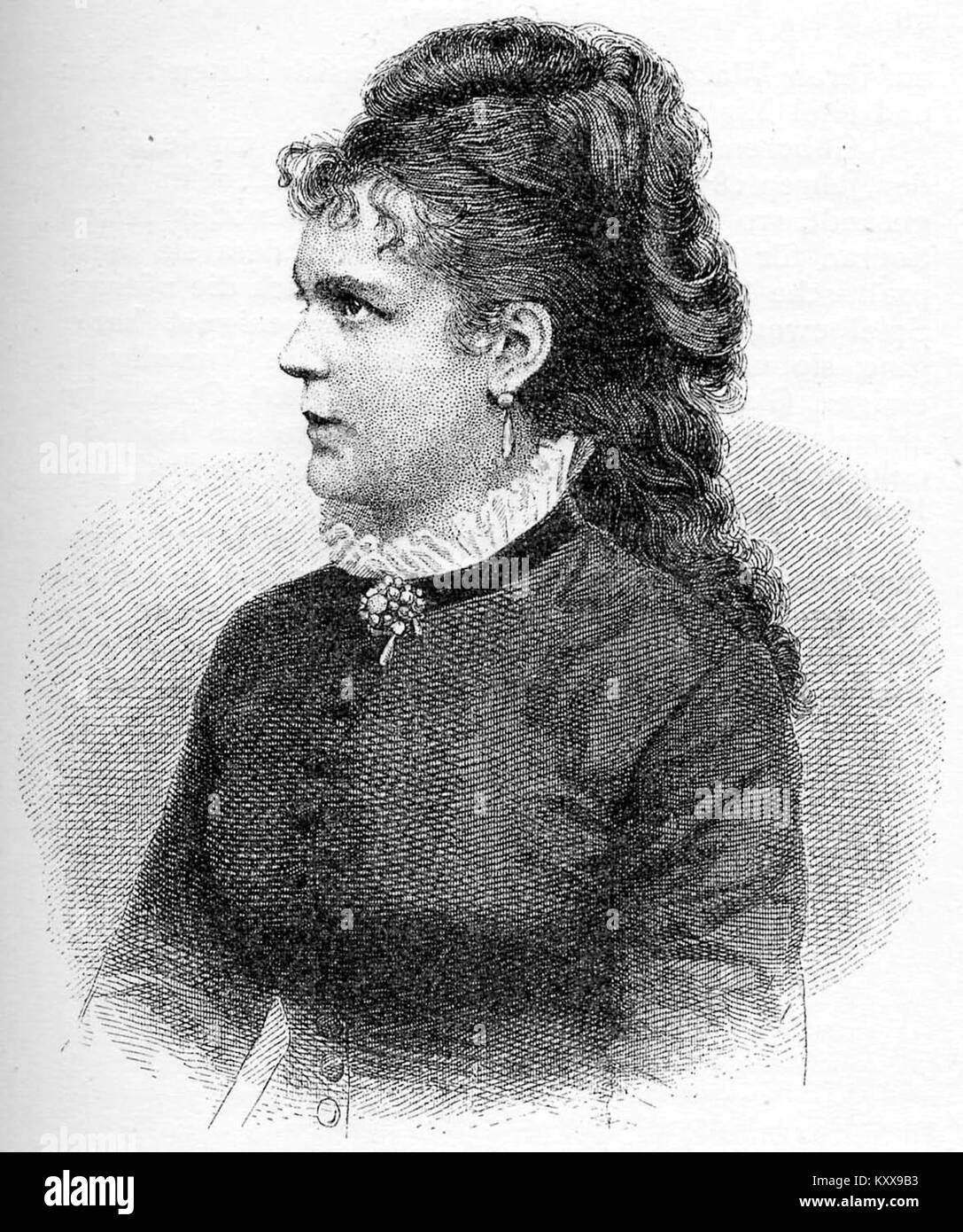 Etelka Gerster AEhrlichSängerinnen1895 - Stock Image