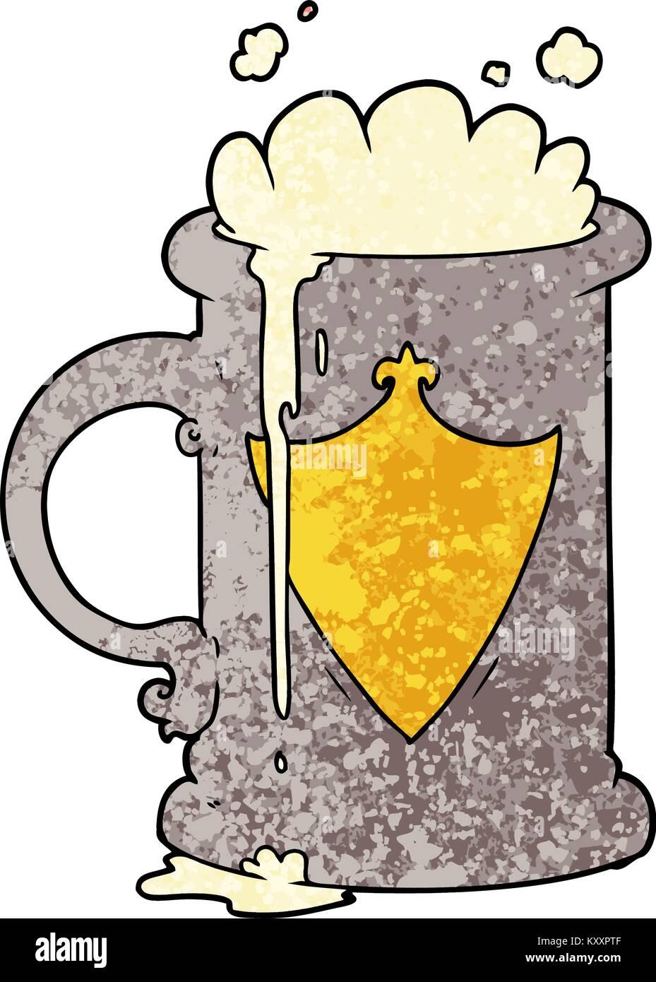 Cartoon Beer Mug Stock Photos Cartoon Beer Mug Stock