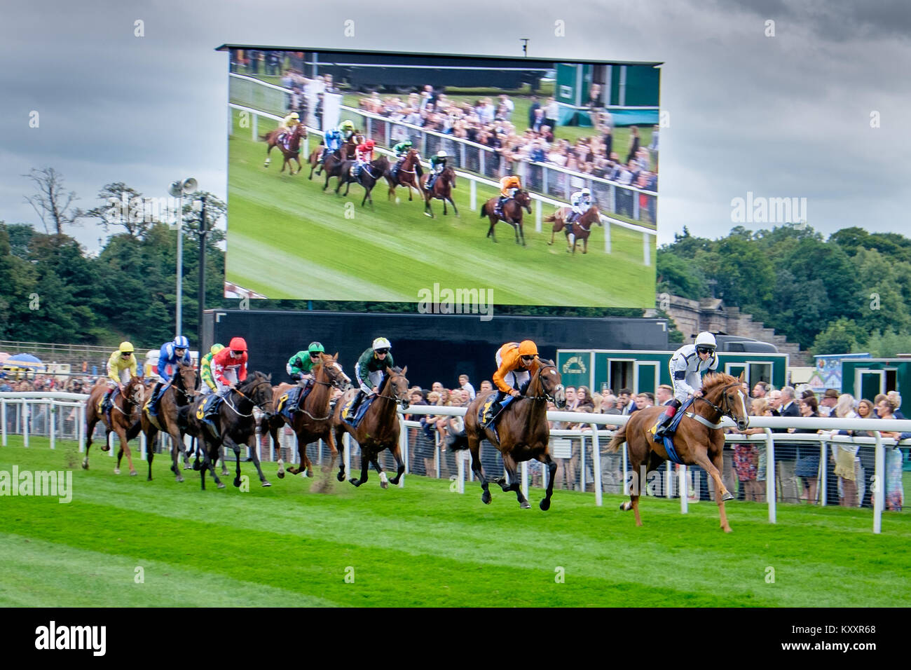 Chester Races - Stock Image