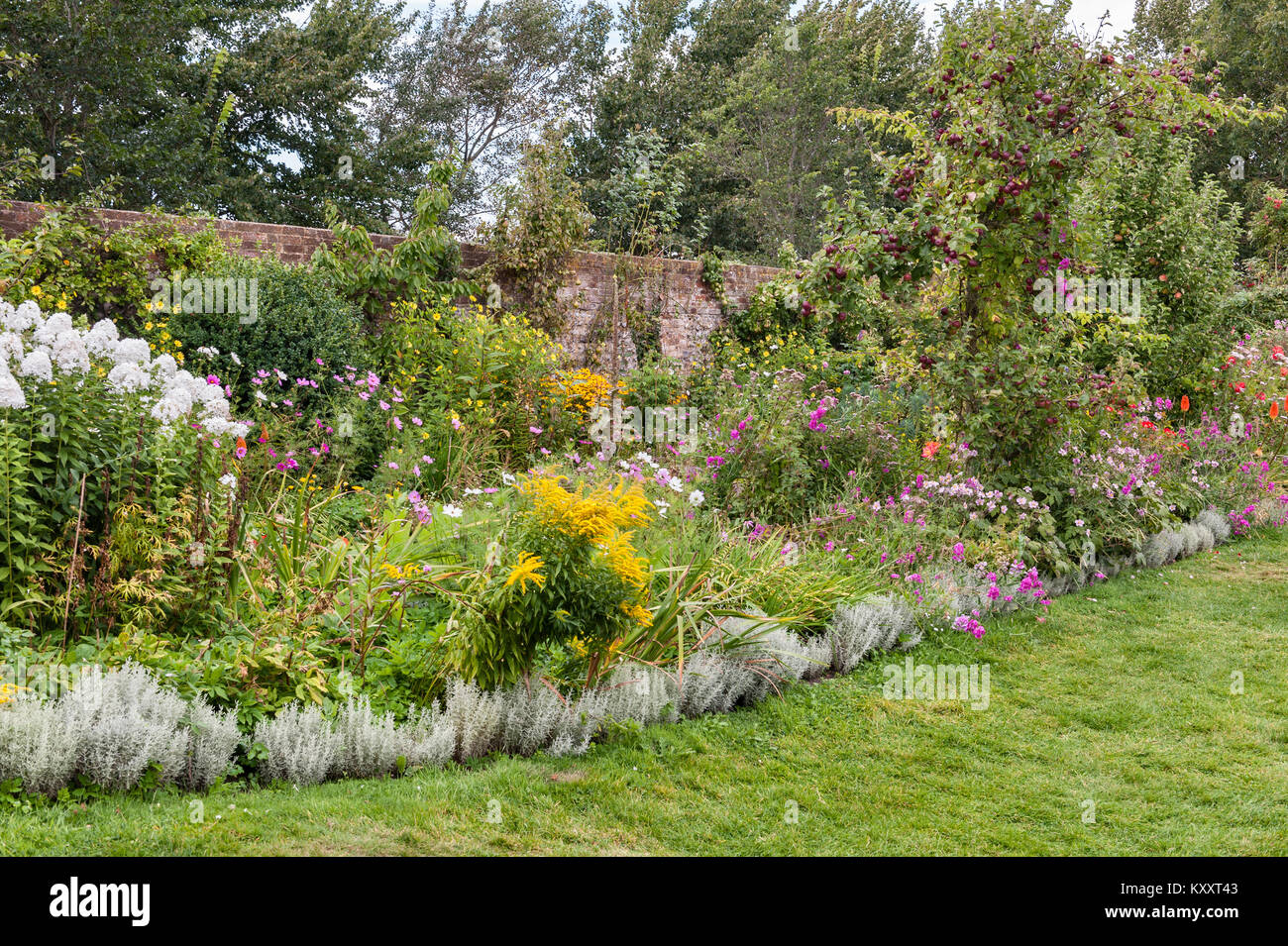 Charleston Farmhouse, East Sussex, UK.Home to the artists Vanessa Bell and Duncan Grant, it was a meeting place - Stock Image