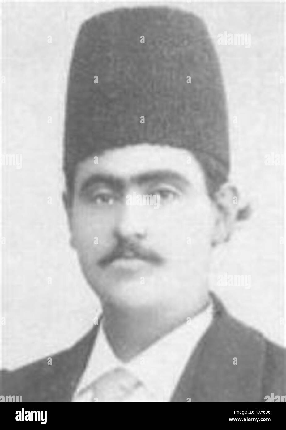 Gholam Reza Khan Ardalan 'Fakhr ol-Mamalek' - Stock Image