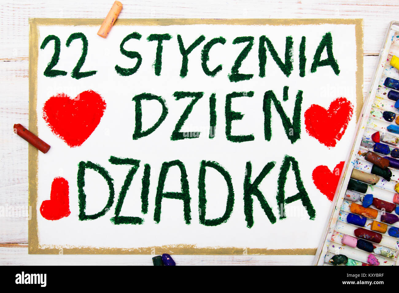 how to say grandfather in polish language
