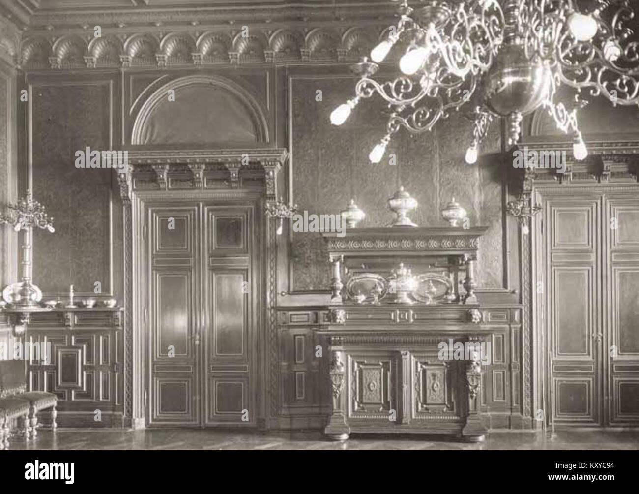 Gustav (V) och Viktorias matsal - Stock Image