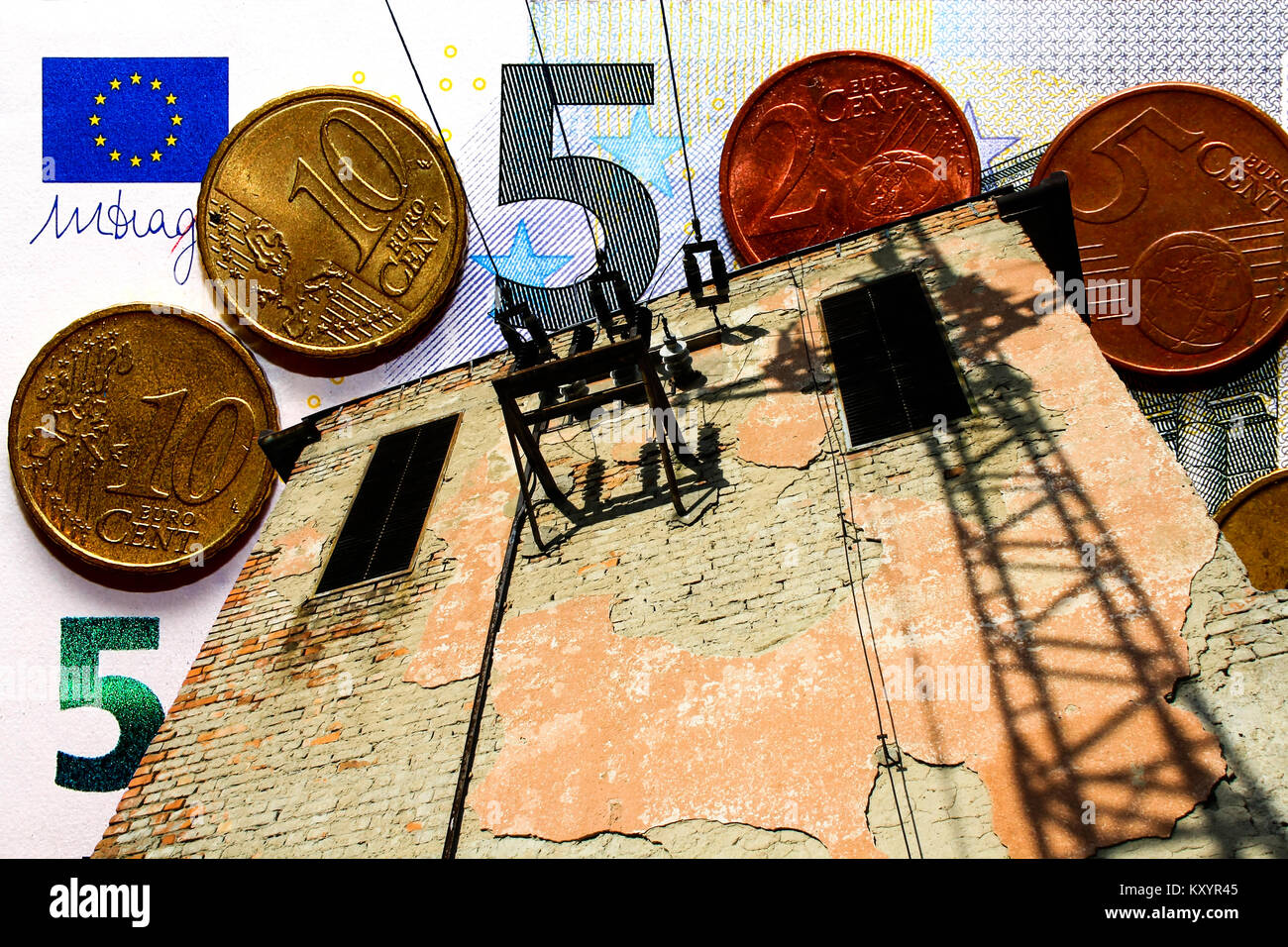 Energy crisis - Energy policy - Rising energy prices - Stock Image