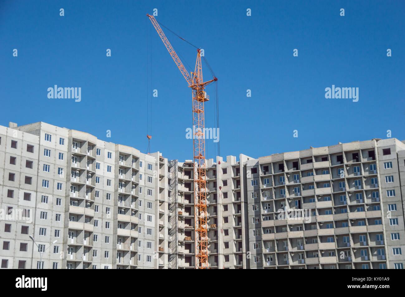 Construction Hoist Stock Photos & Construction Hoist Stock