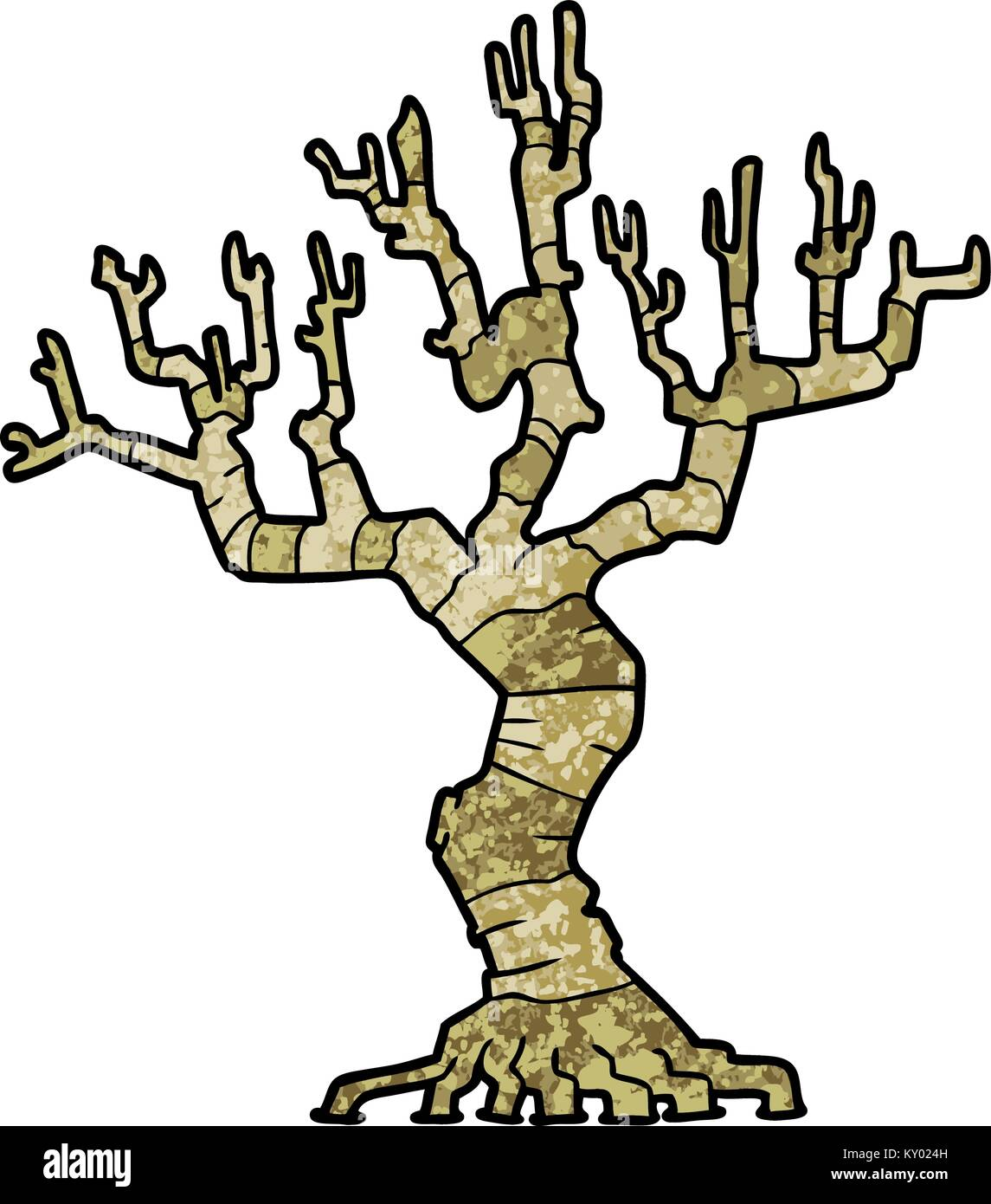 Cartoon Dead Tree Stock Vector Image Art Alamy Native trees of lexington avenue. alamy
