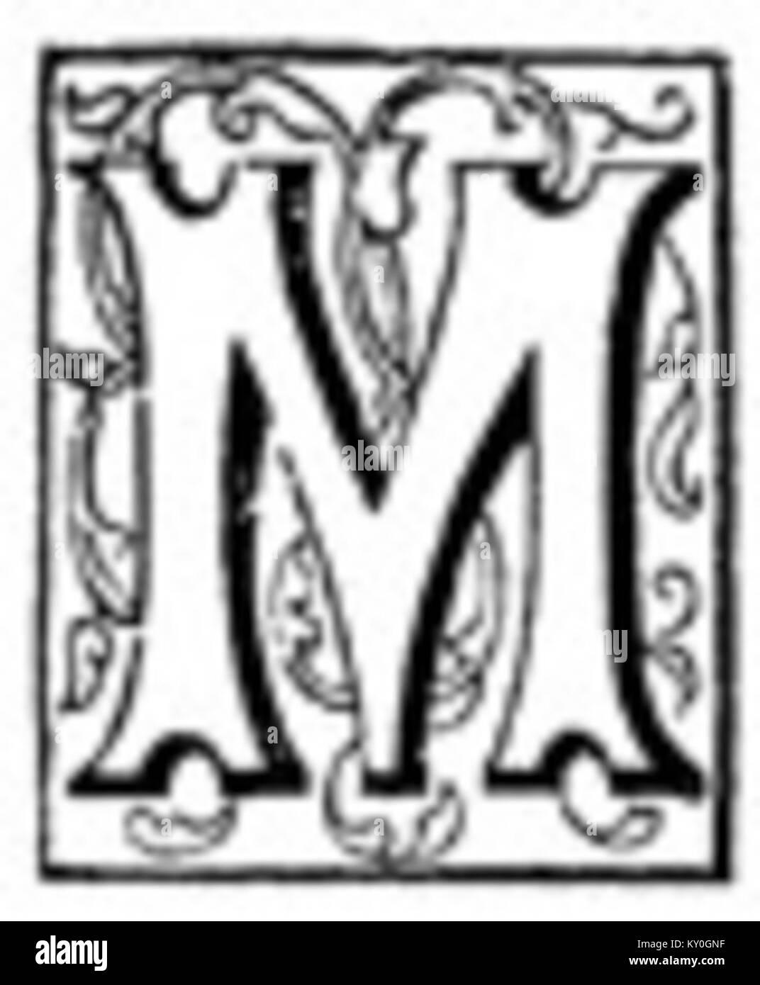 Fancy Letter M 2