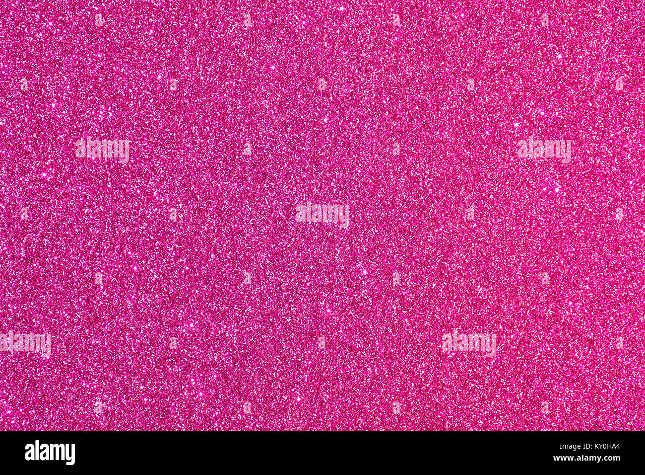 Shiny glimmering pink texture - Stock Image