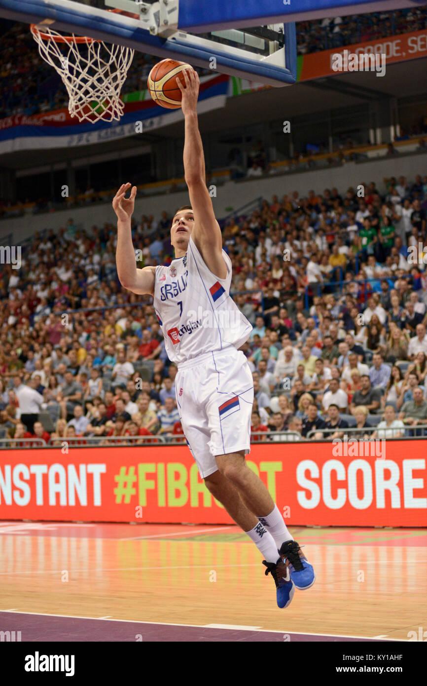 Bogdan Bogdanovic Serbia Basketball National Team Stock