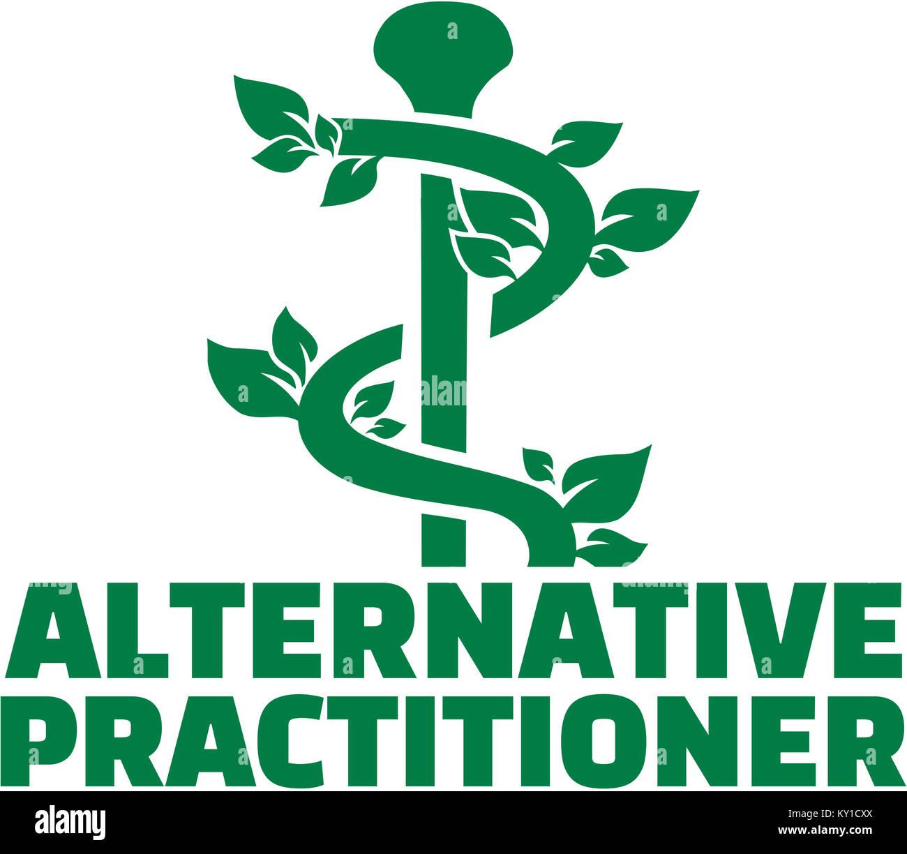 Homeopathy Alternative Medicine Logo Vector Stock Photos