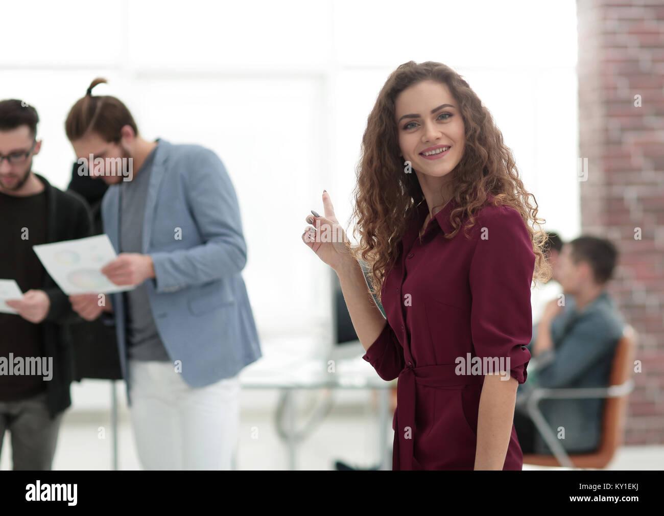 Young fashion designer working at studio. - Stock Image