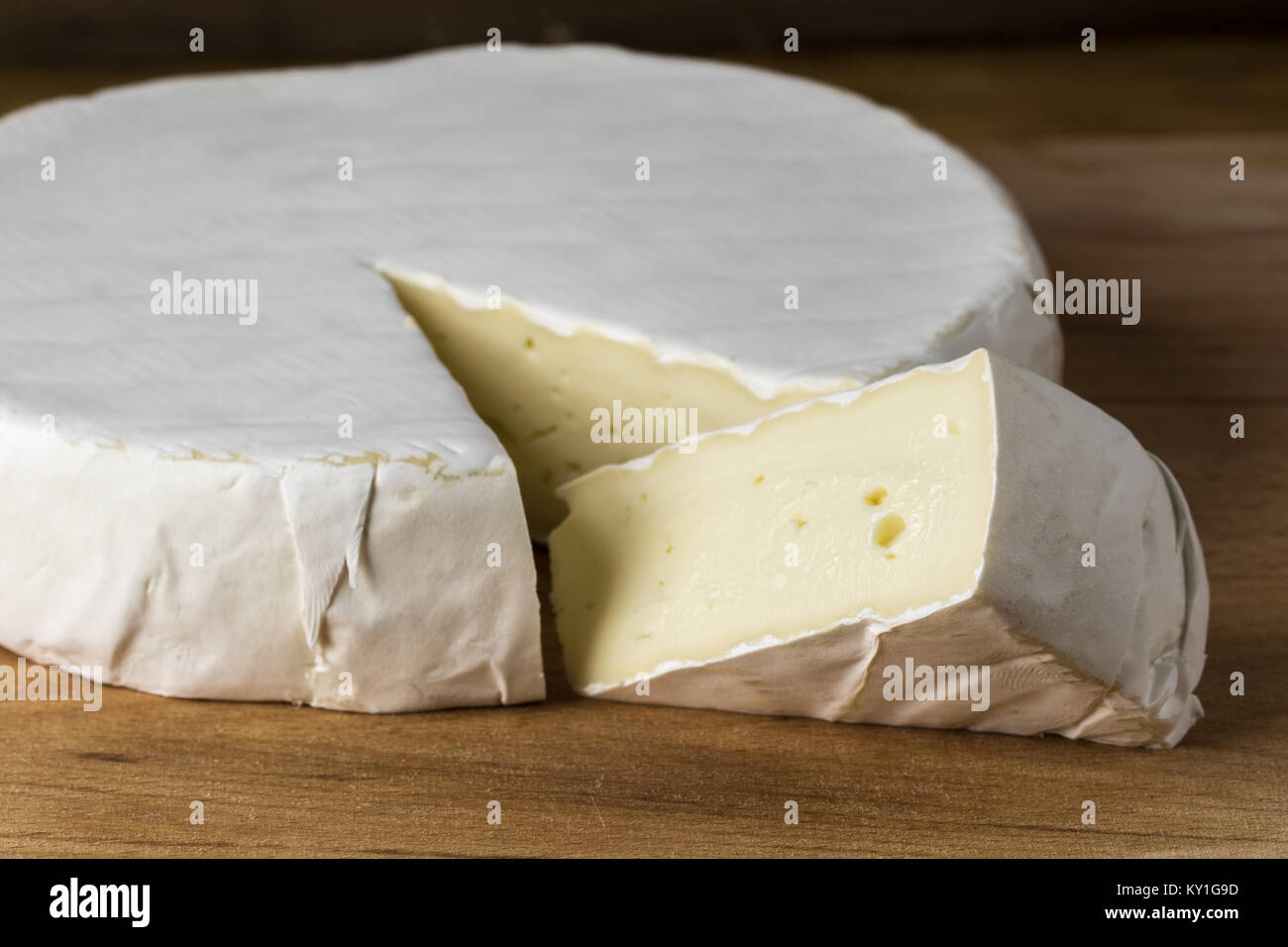 Camembert cheese brie - Stock Image