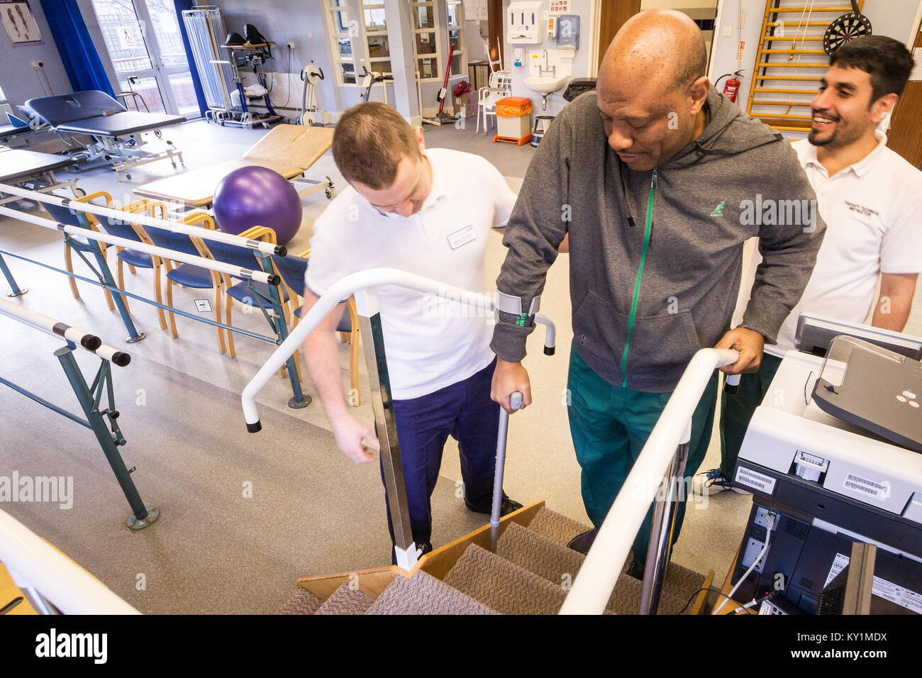 Magnolia Unit, Enfield Health. A short-term in-patient service focusing on preventing avoidable admissions to acute - Stock Image