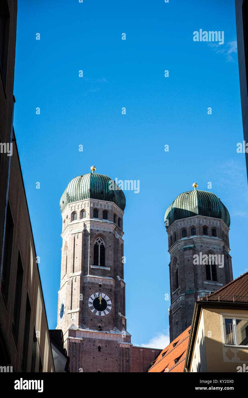 Cathedral Church of Our Lady of Munich - Stock Image