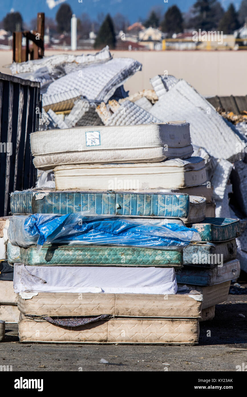 Mattress recycling facility .striving to recycle every bit ...