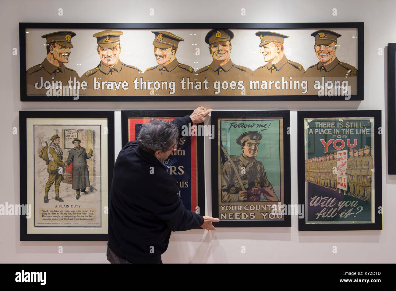 World War 1 Posters Stock Photos & World War 1 Posters Stock