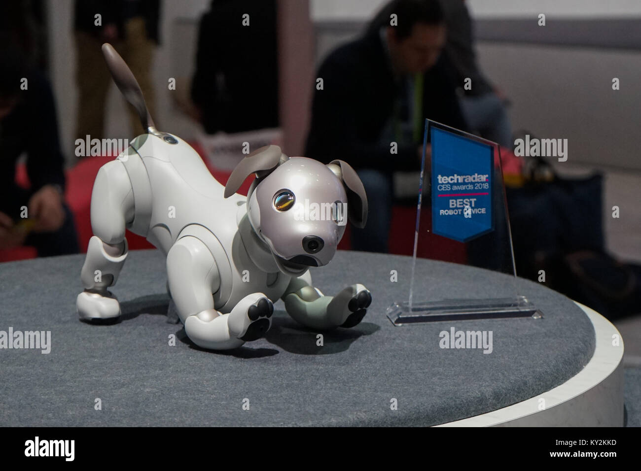 Las Vegas, Nevada, USA  11th Jan, 2018  Sony's robot dog