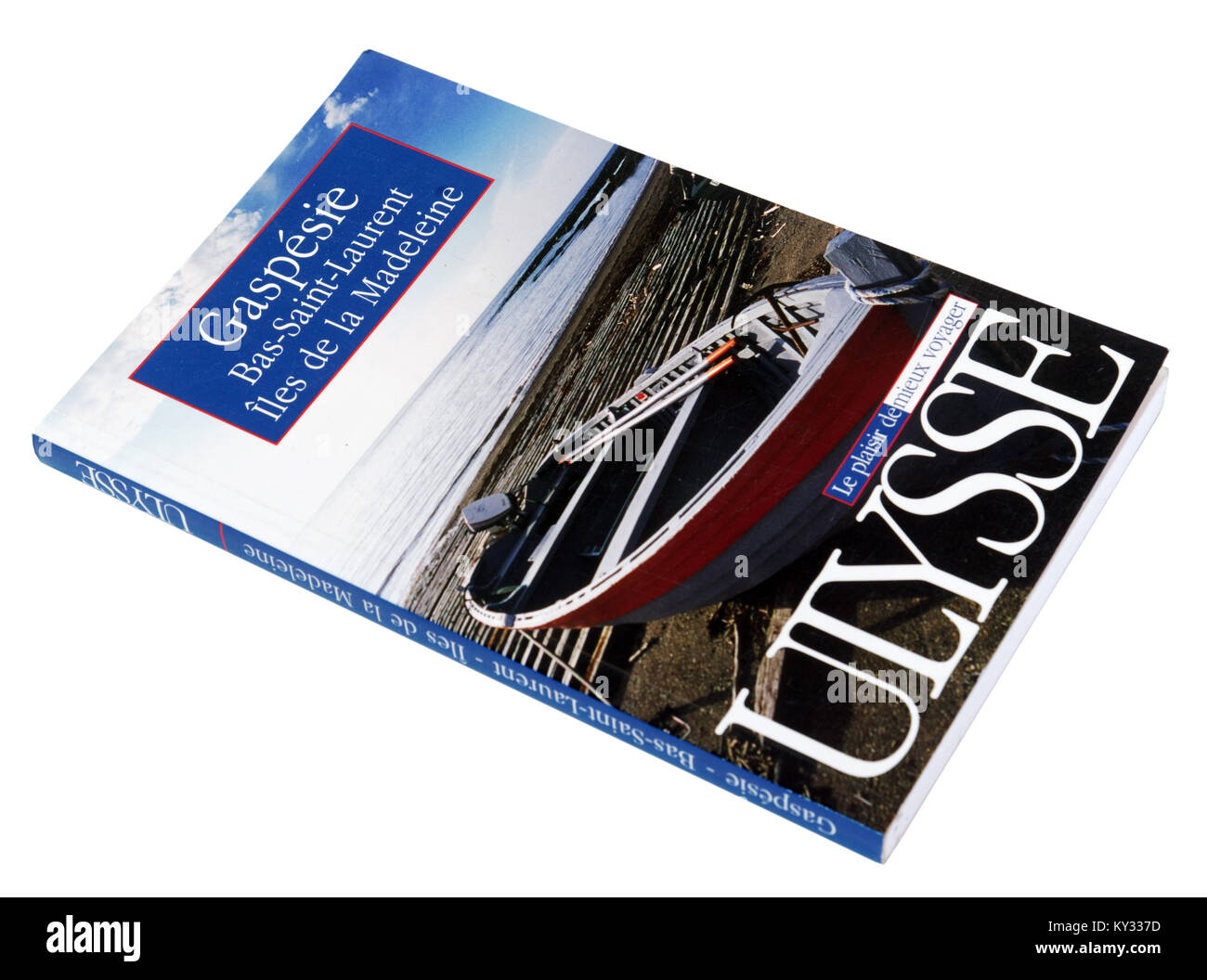 The Ulysse guide to Gaspesie, Bas St Laurent and Iles de la Madeleine - Stock Image