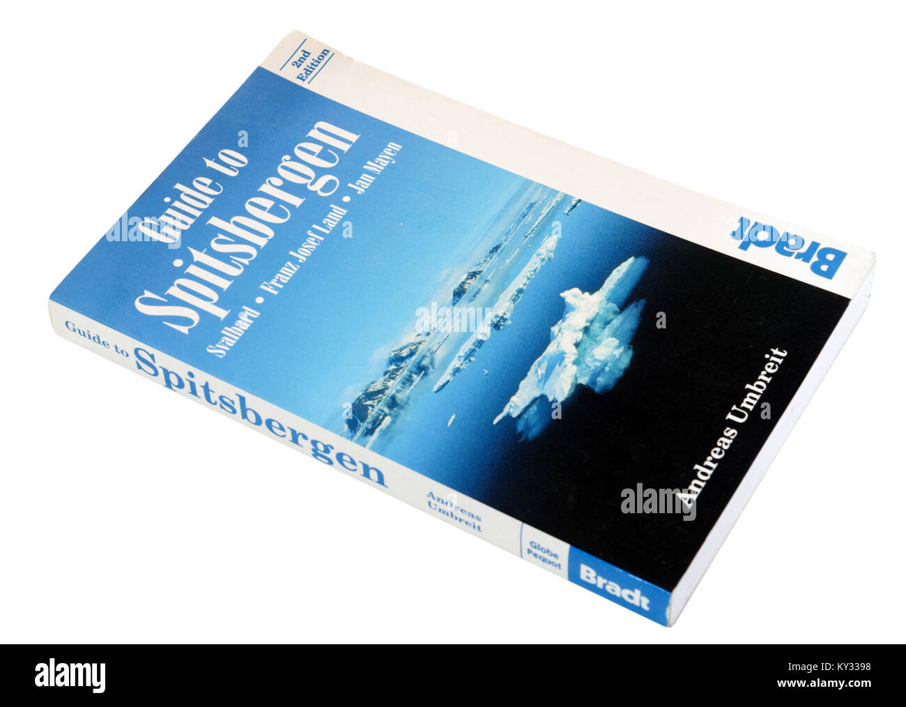 The Bradt guide to Spitsbergen - Stock Image