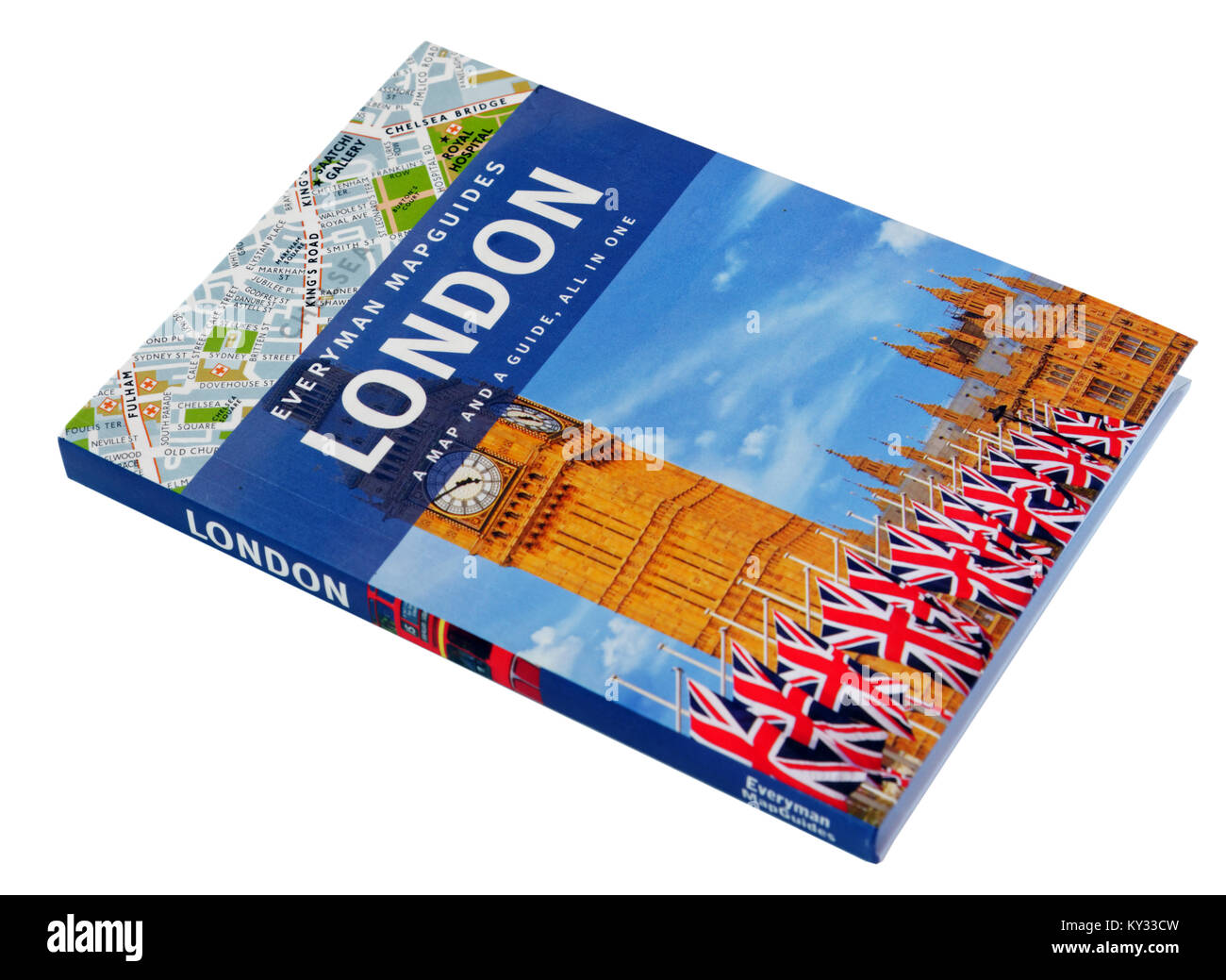 A guide to London - Stock Image