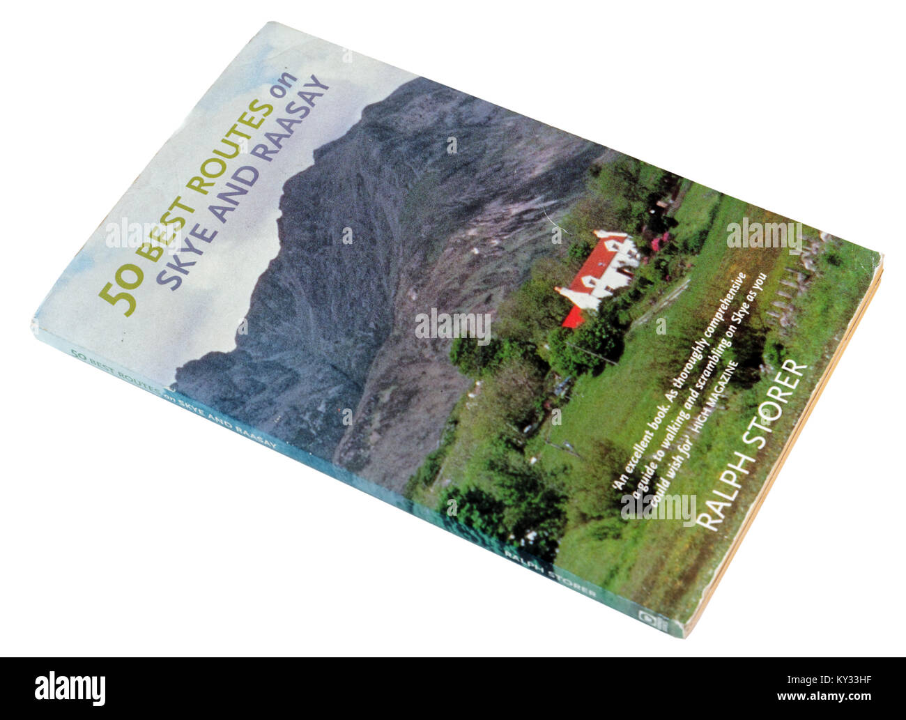 Guidebook to hillwalking on Skye and Raasay in the Scottish Highlands - Stock Image