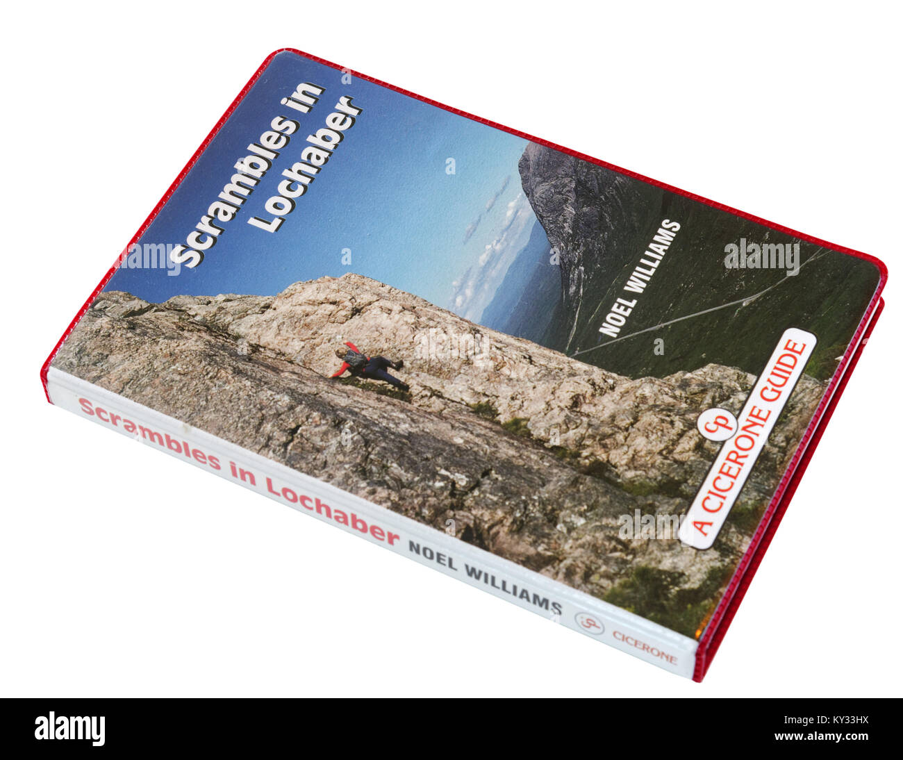 Guidebook to Scrambling in Lochaber in the Scottish Highlands - Stock Image