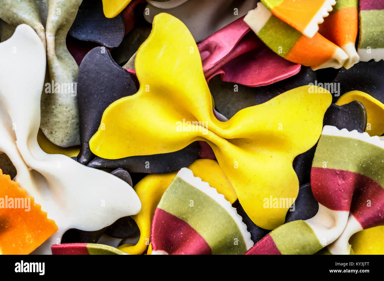 Colored Pasta Stock Photos Amp Colored Pasta Stock Images