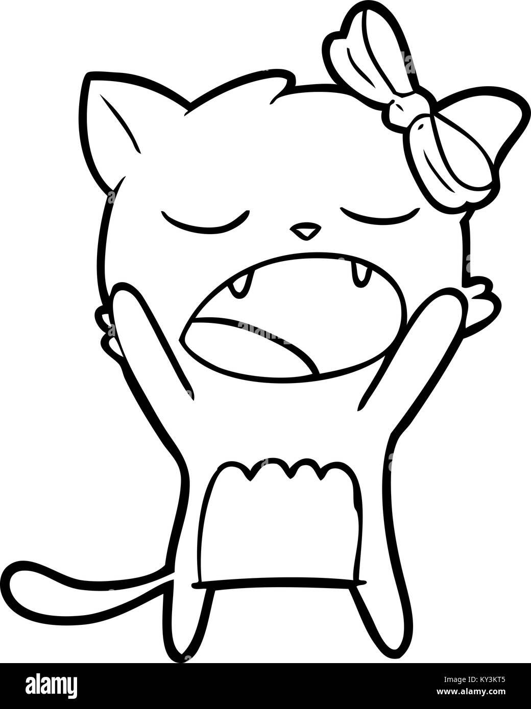 Cartoon Cat Meowing Stock Vector Image Art Alamy,Patty Pan Squash