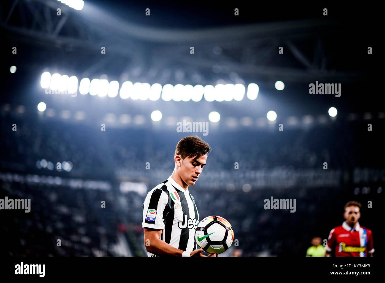 Paulo Dybala Torino 25-10-2017 Allianz Stadium Calcio Serie A 2017/2018 Juventus - Spal Foto OneplusNine / Insidefoto - Stock Image