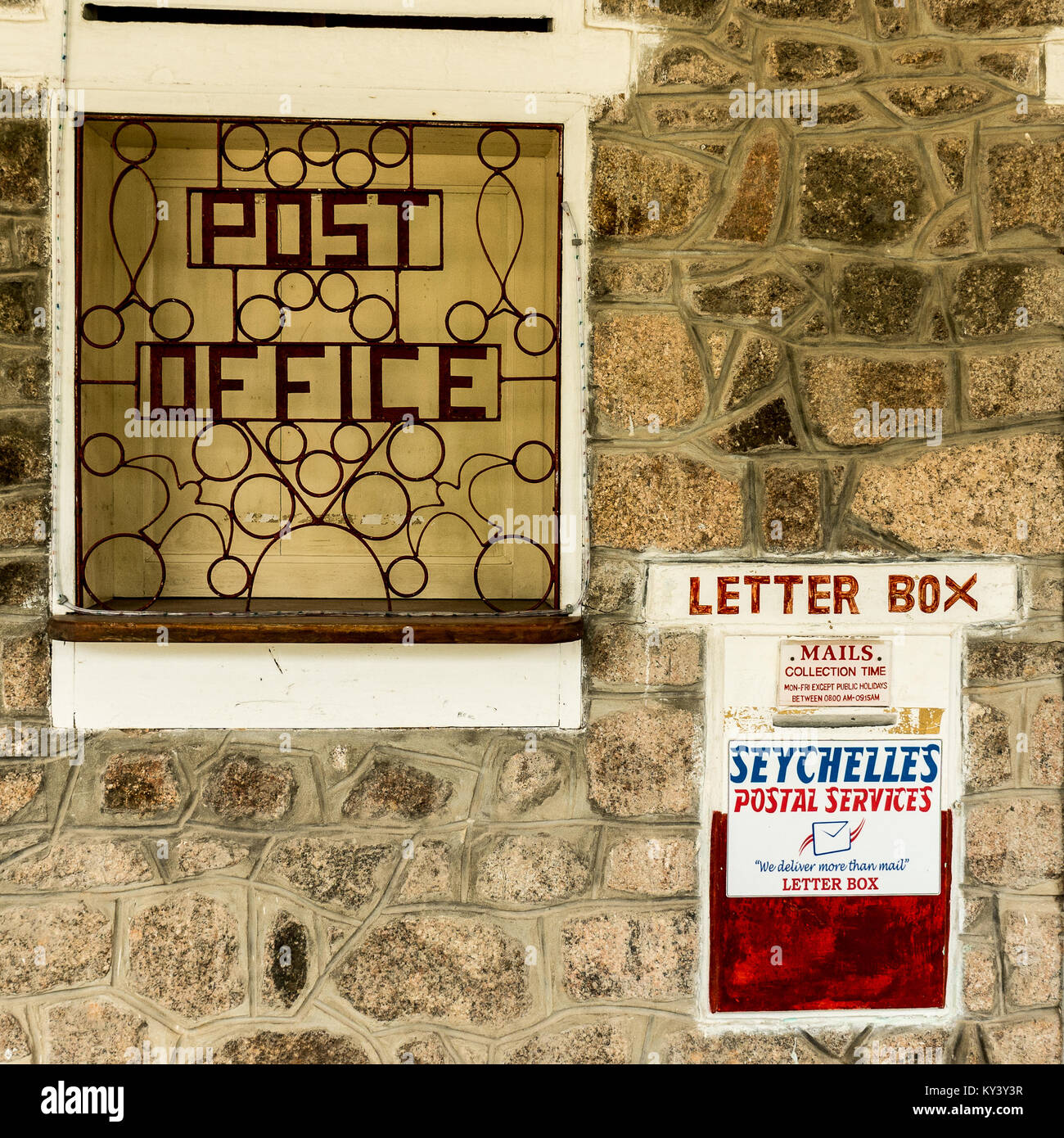 Indian Letter Post Box Stock Photos & Indian Letter Post Box Stock ...