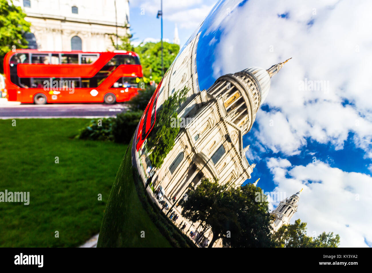St Paul's Cathedral, London. Stock Photo