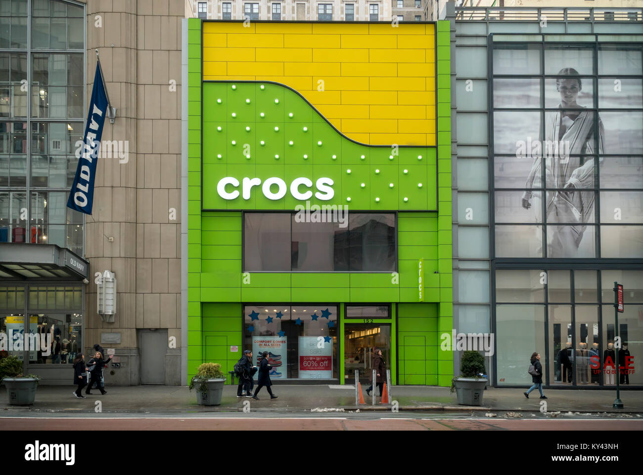 505f8b53d The Crocs store in Herald Square in New York