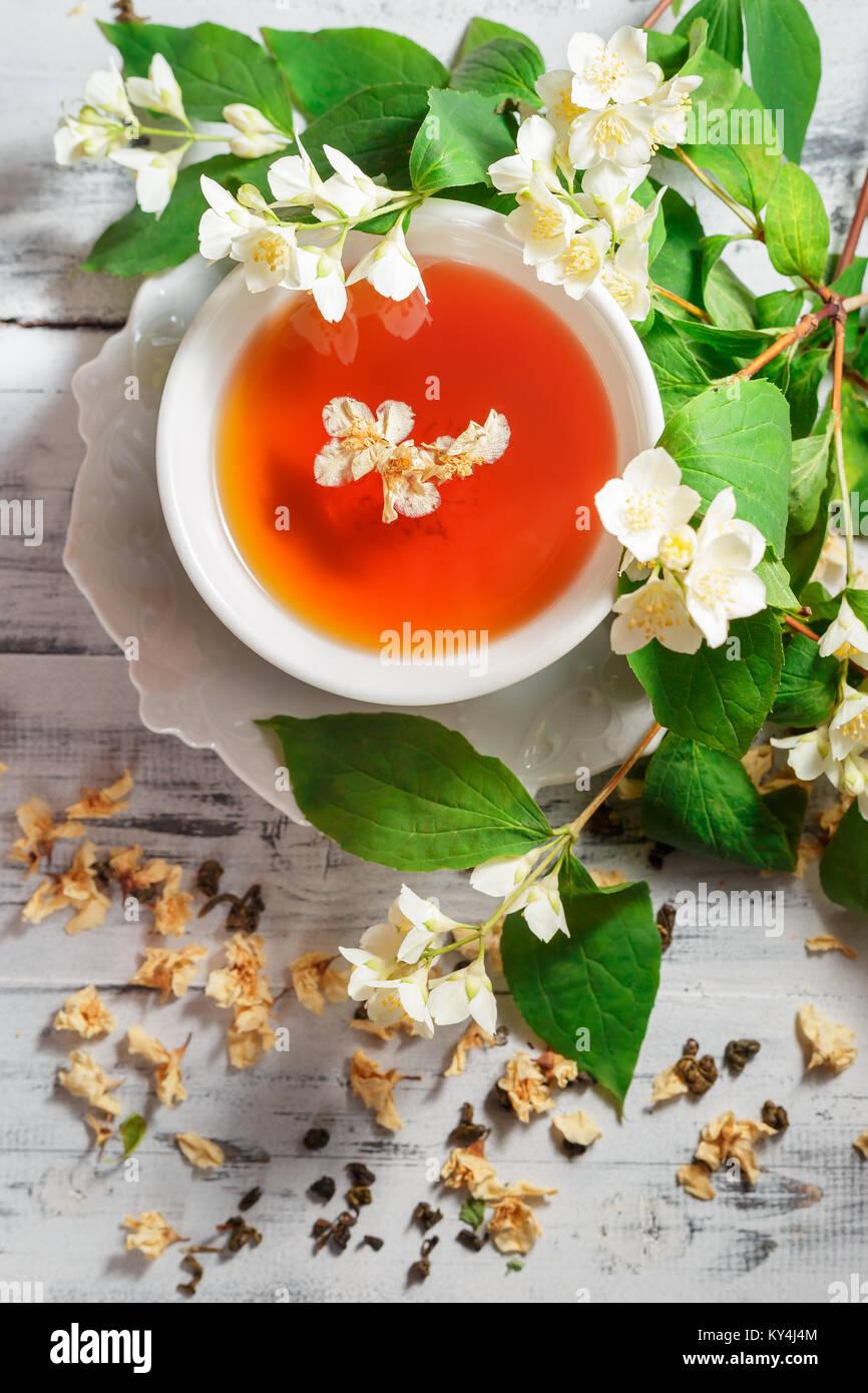 Jasmine Tea Dry Stock Photos Jasmine Tea Dry Stock Images Alamy