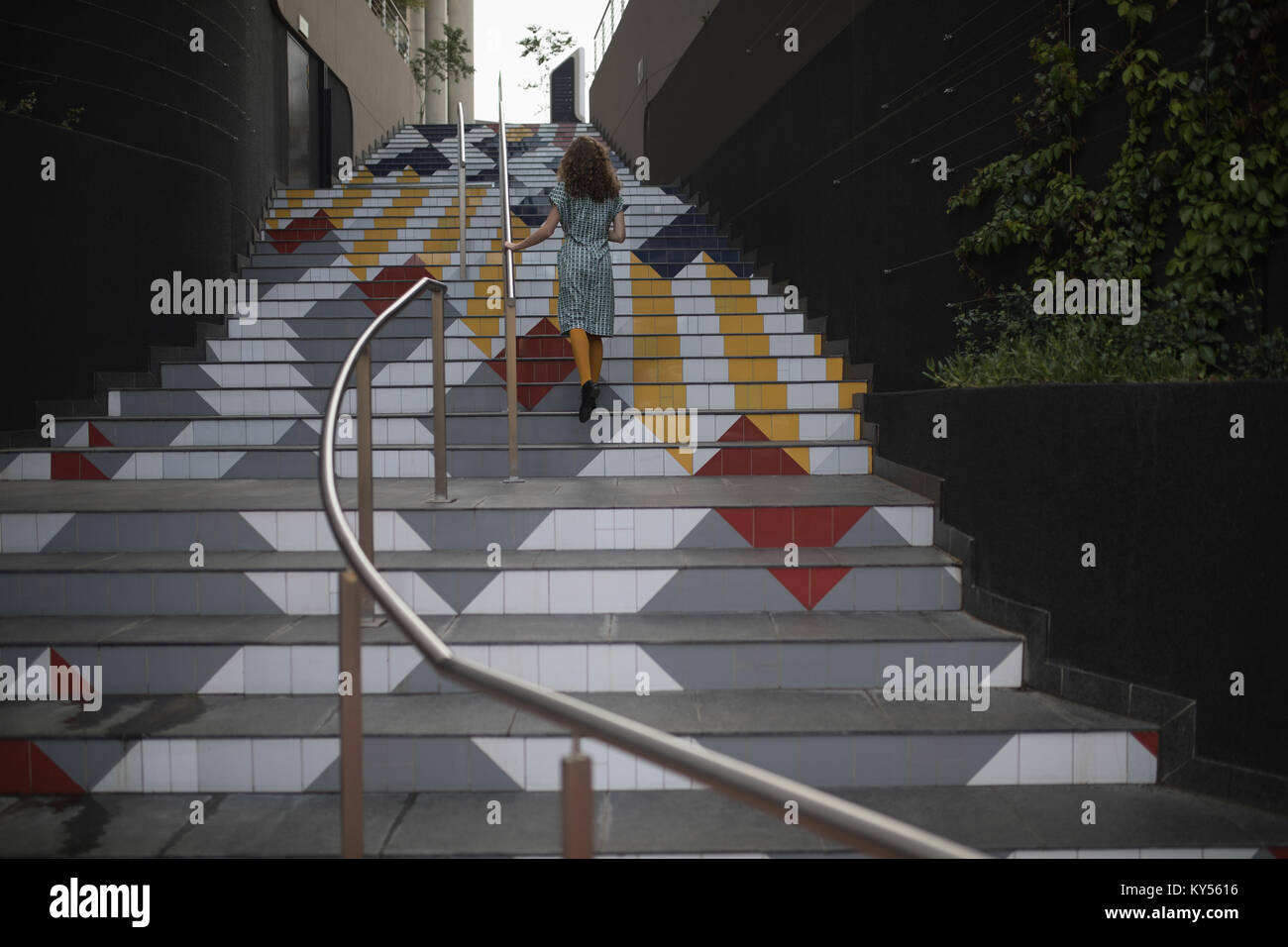 Painted Stairs Stock Photos Painted Stairs Stock Images Alamy