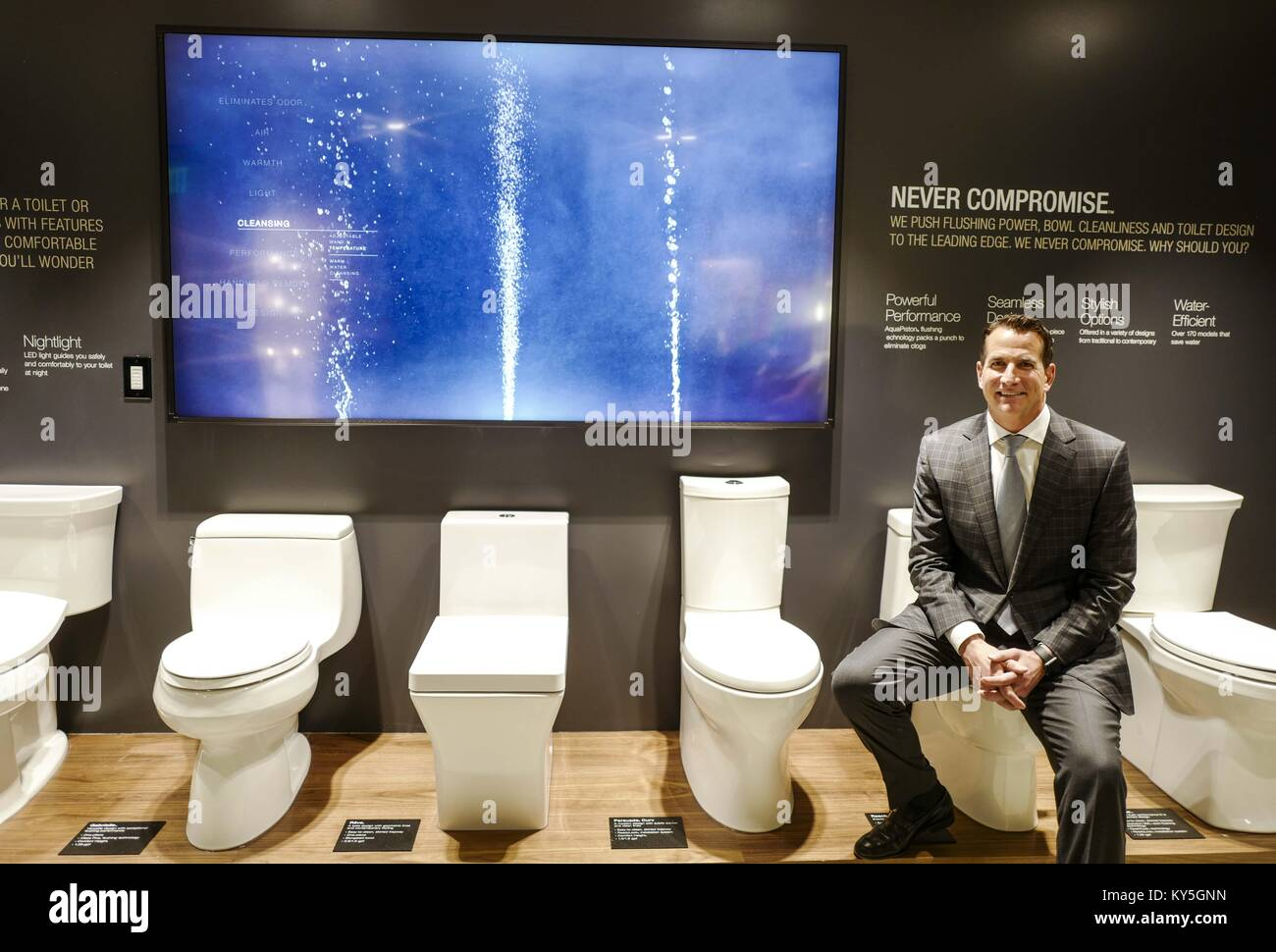 Los Angeles, California, USA. 5th Dec, 2017. David Kohler, CEO of ...