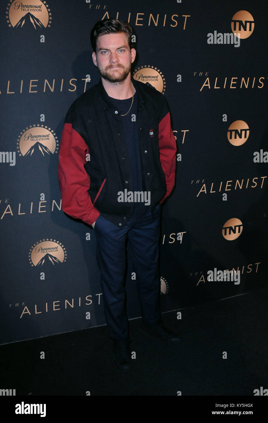 Hollywood, USA. 12th Jan, 2018. HOLLYWOOD, CA - JANUARY 11: Actor Jake Weary attends the Los Angeles Premiere of Stock Photo