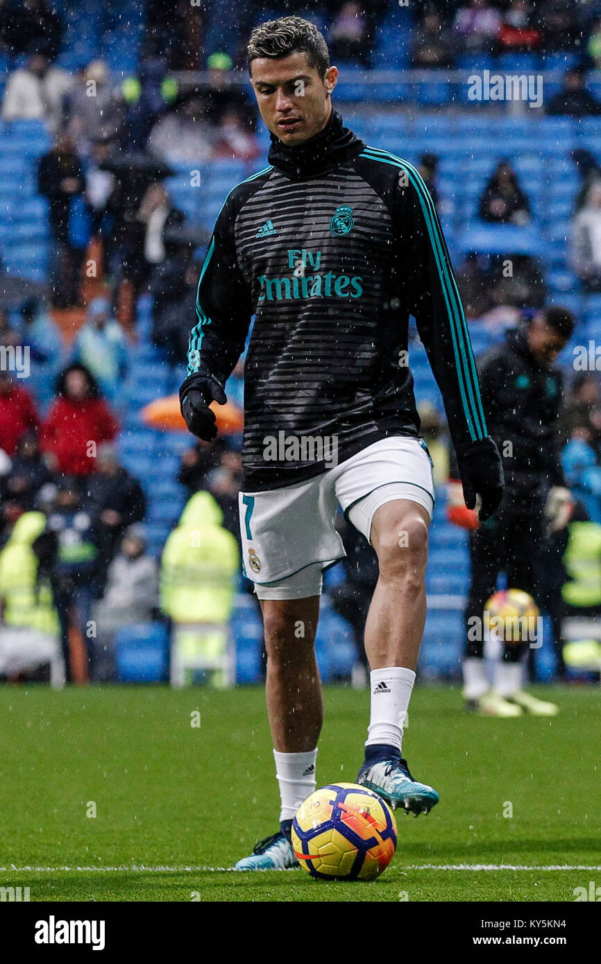 reputable site da8a7 03e74 Cristiano Ronaldo (Real Madrid) Pre-match warm-up La Liga ...