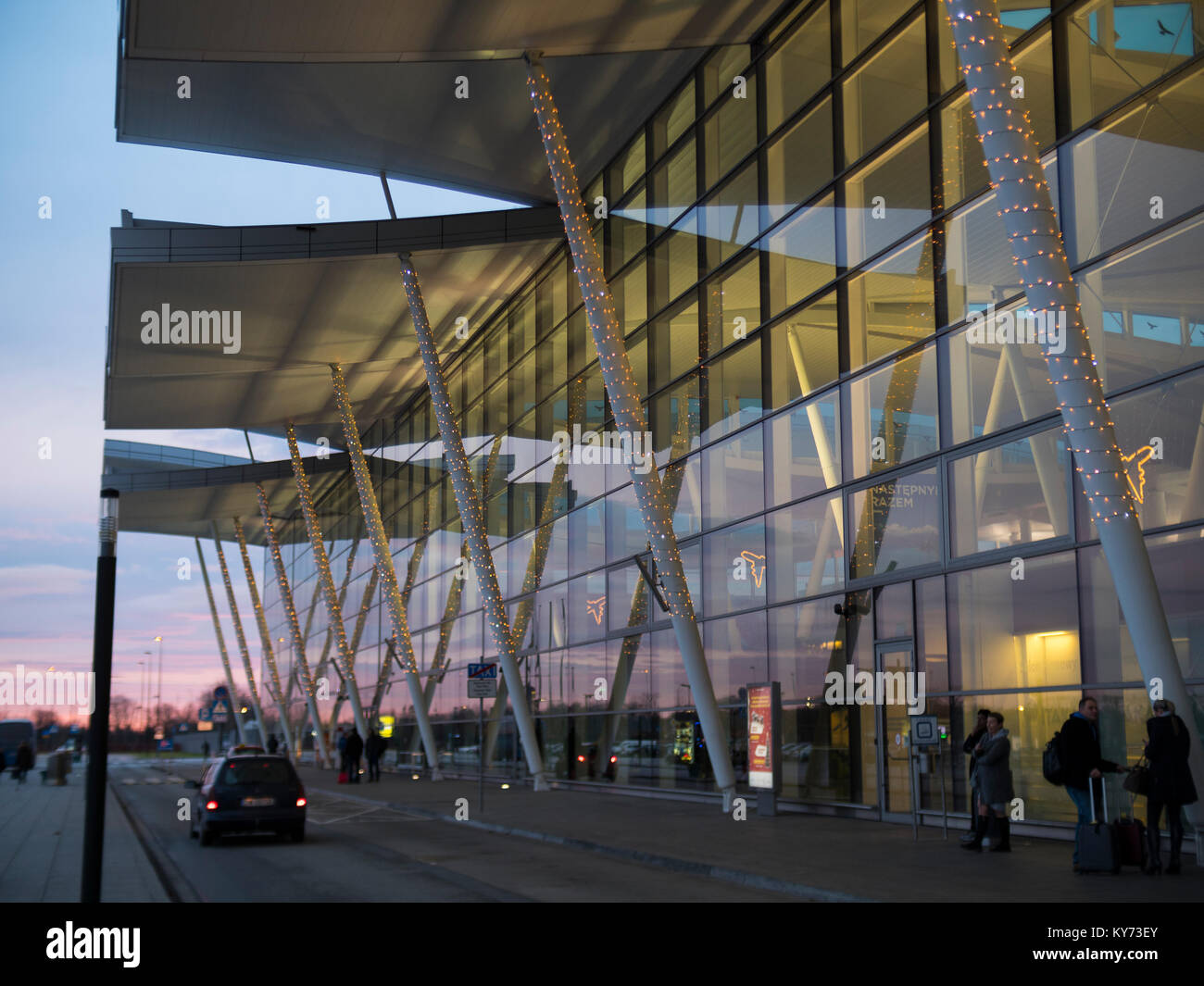 Wroclaw International Airport - Stock Image