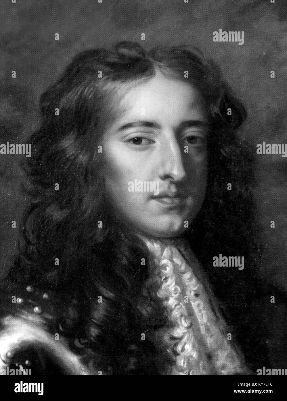 King William III of England, Scotland and Ireland (William of Orange: 1650-1702), who ruled as joint monarch with - Stock Image
