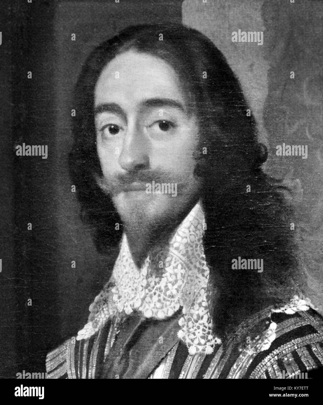 King Charles I of England (1600-1649) - Stock Image