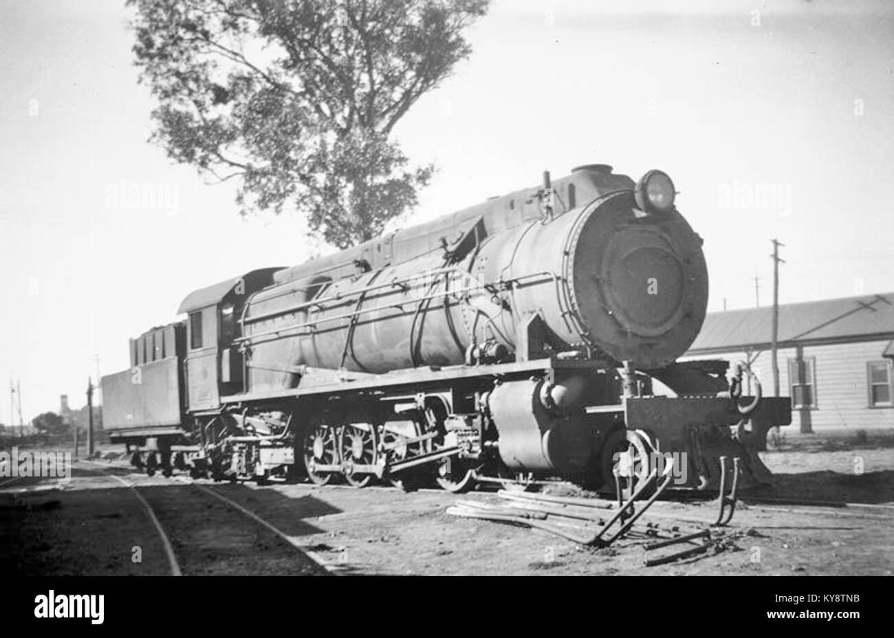S543, Midland Junction, ca. 1950 - Stock Image