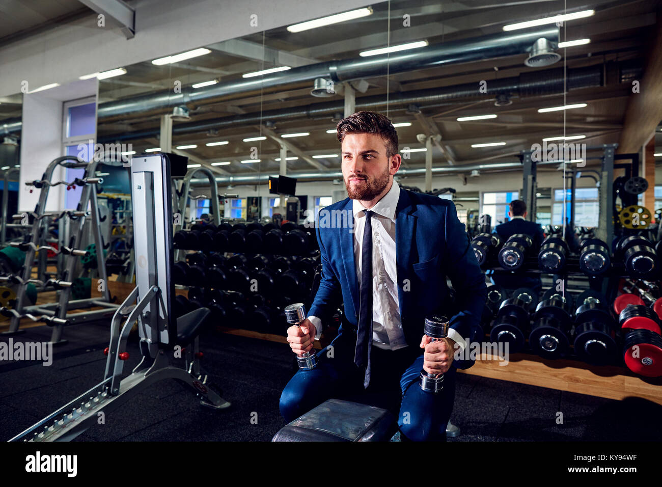 4e5955d2202b Businessman Sport Manager Executive Athletic Stock Photos ...