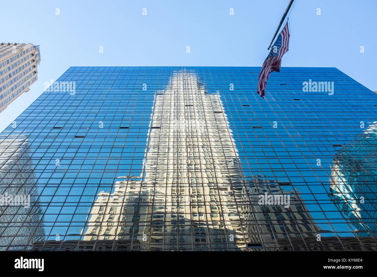 The Chrysler Building, Midtown Manhattan, New York City, USA - Stock Image